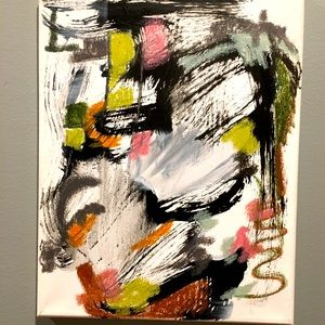 Original signed Abstract Painting